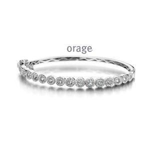 Orage Armband zilver - AP040