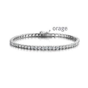 Orage Armband zilver - AP055