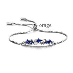Orage Armband zilver - AP079