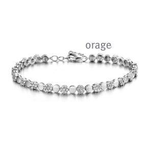 Orage Armband zilver - AP129