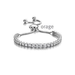 Orage Armband zilver - AP206