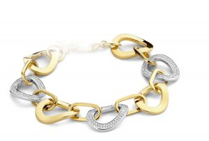 Silver Rose Armband - BR2104G