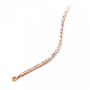Silver Rose Armband - BR3103R