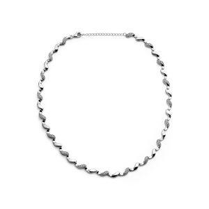 Silver Rose Halsketting - CH2059W