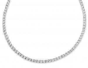 Silver Rose Halsketting - CH3100W