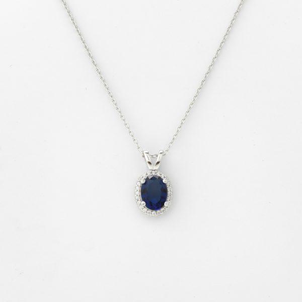 Halsketting Savona 18kt goud - 24 diamanten door Jo Juwelen