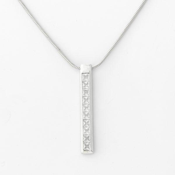 Halsketting Lagos 18kt goud - 10 diamanten door Jo Juwelen