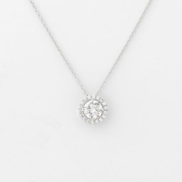 Halsketting Tunis 18kt goud en 19 diamanten door Jo Juwelen