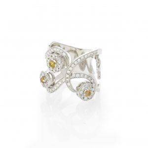 Ring Cancún 18kt goud door Jo Juwelen