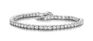 Silver Rose Armband - SWBR05